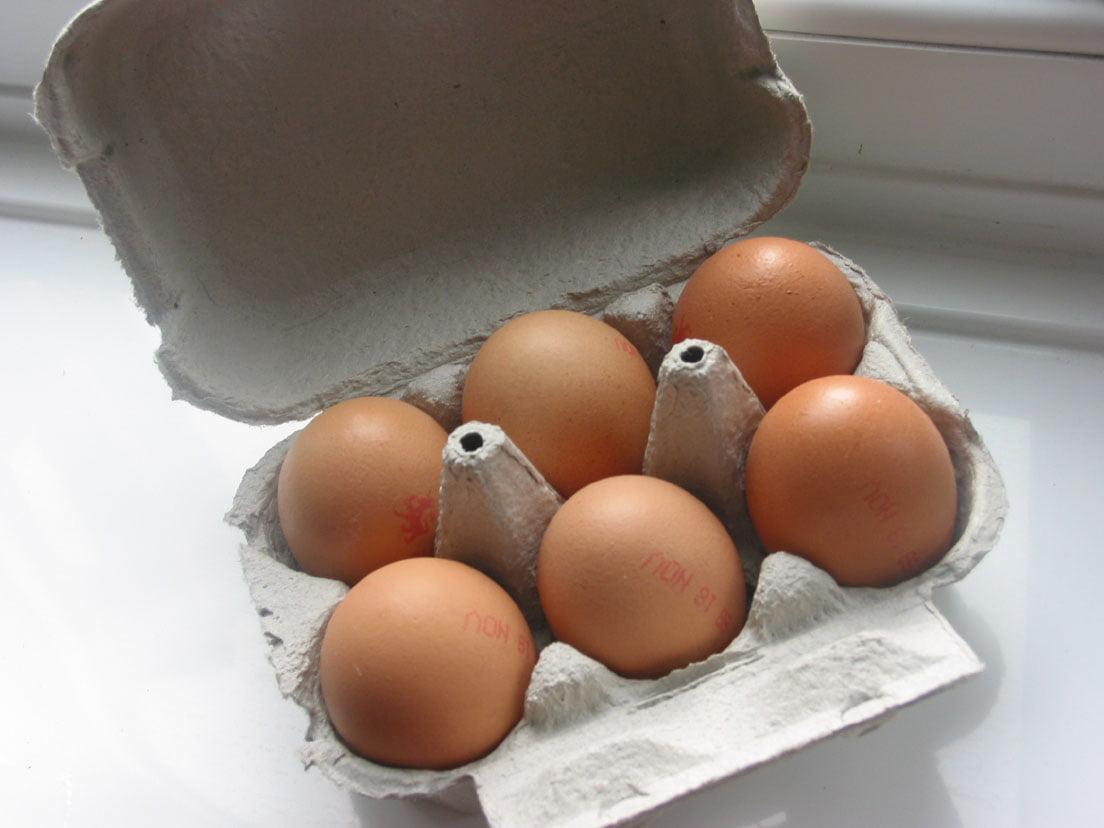 Distorsione alla caviglia: usare il bianco d'uovo