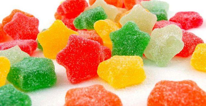 1) Caramelle gommose alla frutta fatte in casa