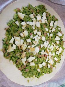 2) girelle di zucchine