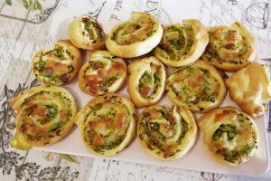 7) girelle di zucchine