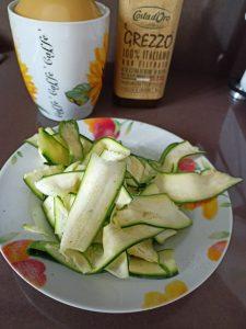 1) Grissini alle zucchine