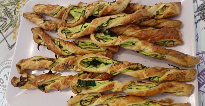 4) Grissini alle zucchine