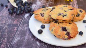 Biscotti ai mirtilli della nonna