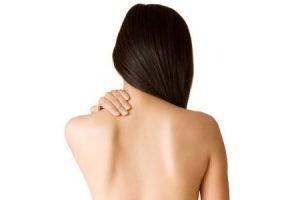 addio acne sulla schiena