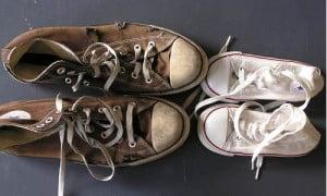come-pulire-scarpe-ginnastica-rimedinonna