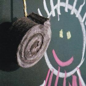 Il cancellino da lavagna farà miracoli contro l'umidità!