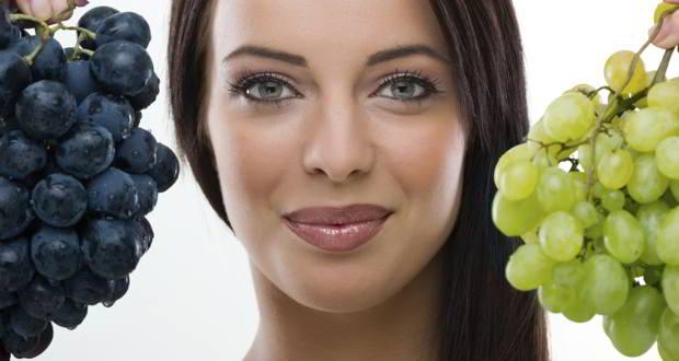 Niente di meglio di una maschera di bellezza a base di uva!