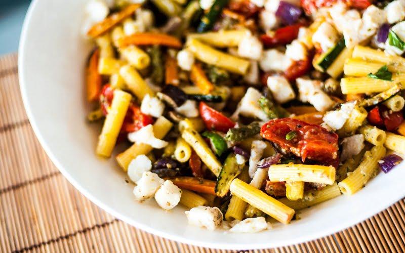 Pasta fredda alle verdure: la ricetta della Nonna