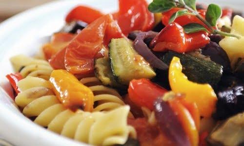 pasta fredda alle verdure della nonna, la ricetta