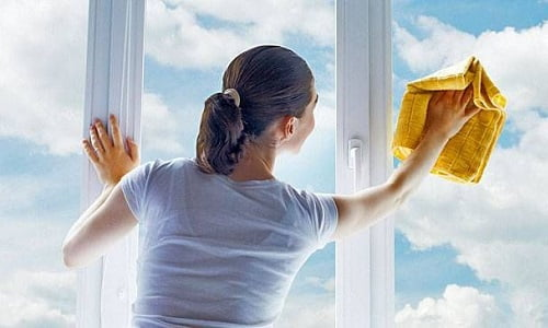 detergente pulisci vetri della nonna