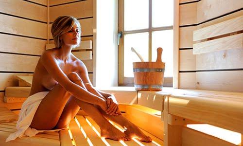 sauna inverno